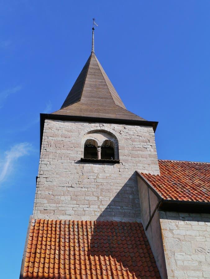 Église de Bro en Suède photo stock