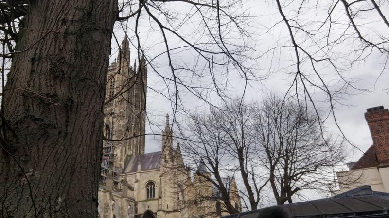 Église de Cantorbéry photo stock