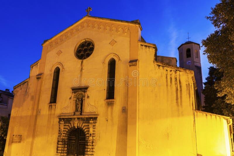 Église de Carmes de Grands à Marseille photographie stock