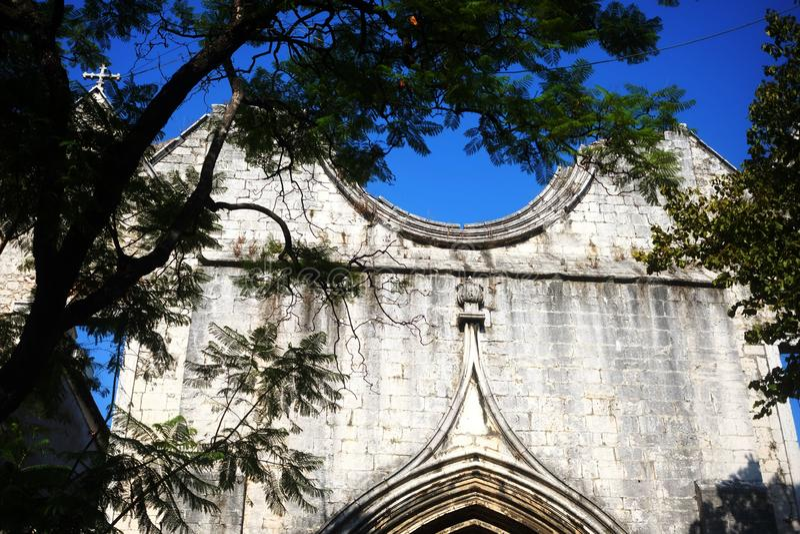 Église de Carmo - foi et art du Portugal images stock