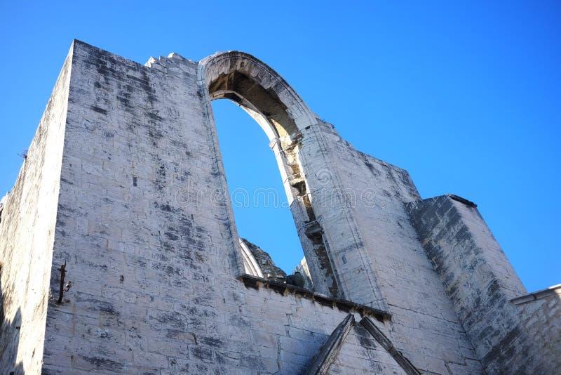 Église de Carmo - foi et art du Portugal photos stock