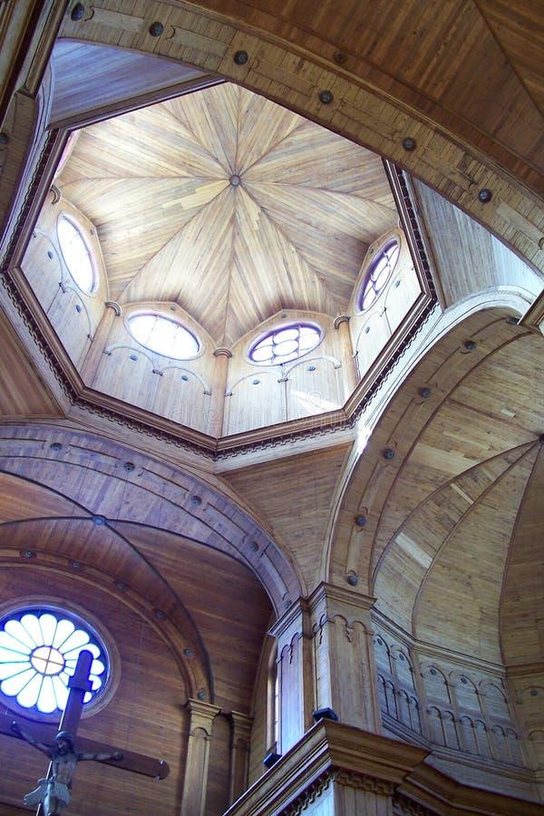 Église de Castro image stock