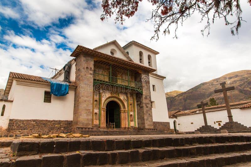 Église de cathédrale, Christian Cross, Puno, Pérou, Amérique. photographie stock libre de droits