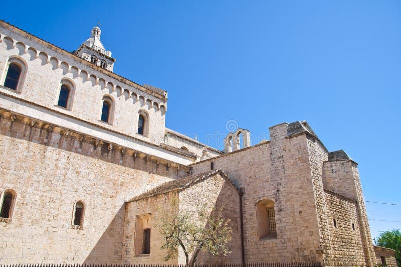 Église de cathédrale de Barletta La Puglia l'Italie photos stock