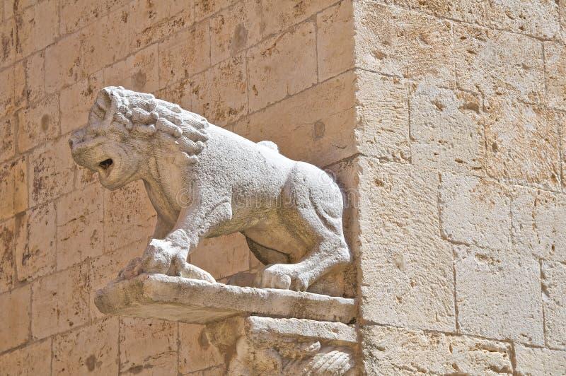 Église de cathédrale de Barletta La Puglia l'Italie photo libre de droits