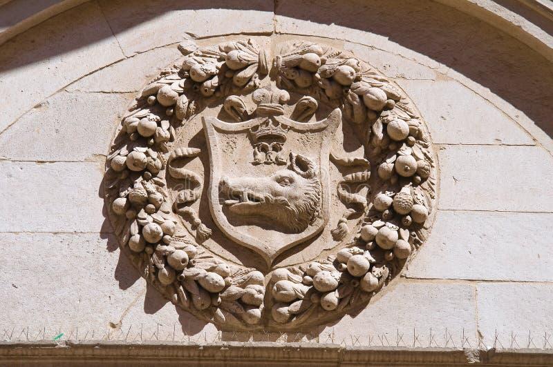 Église de cathédrale de Barletta La Puglia l'Italie photographie stock