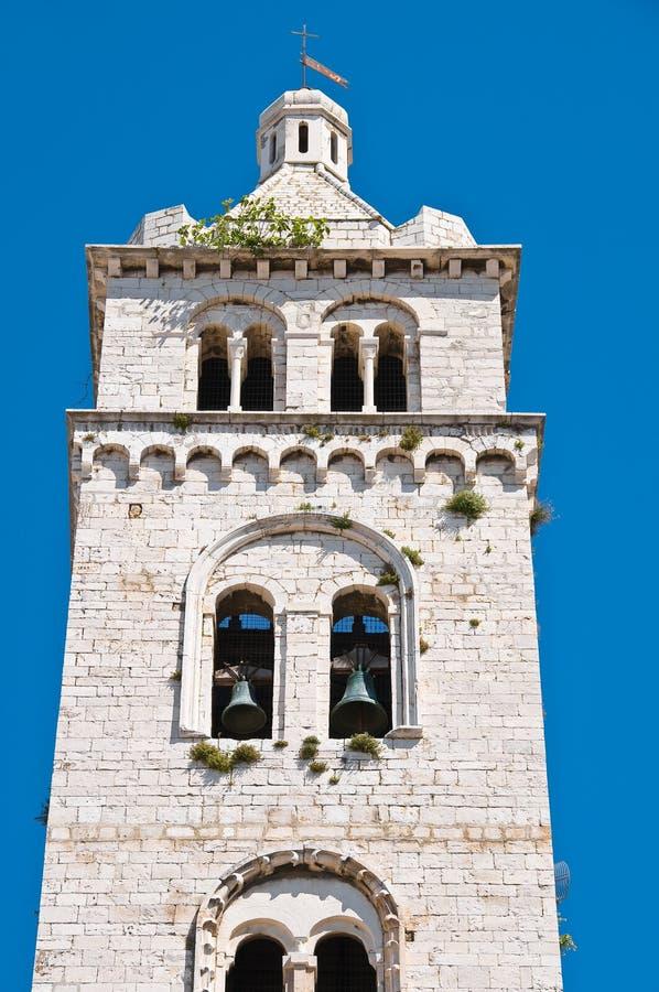 Église de cathédrale de Barletta La Puglia l'Italie images stock