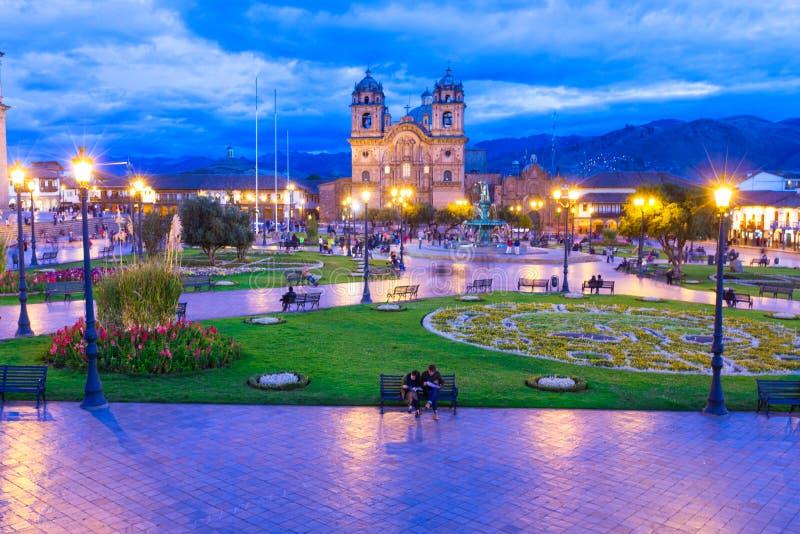 Église de cathédrale de Cuzco image stock