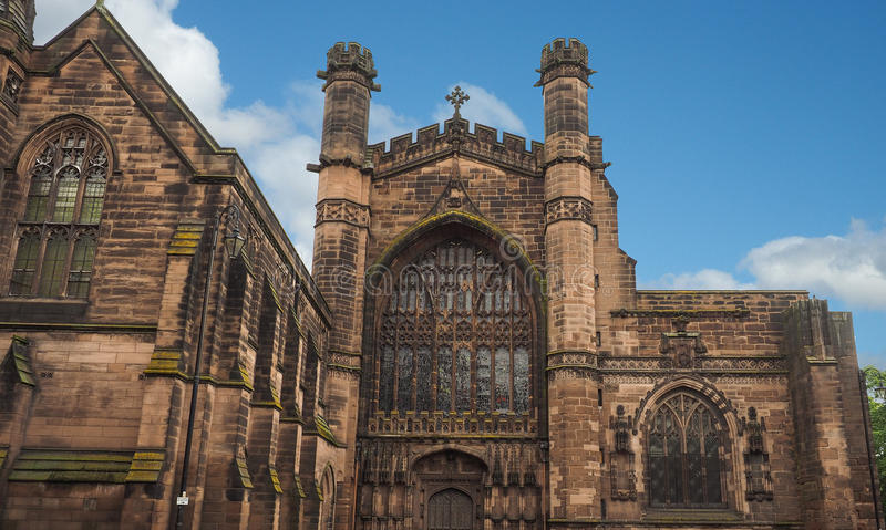 Église de Chester Cathedral photographie stock