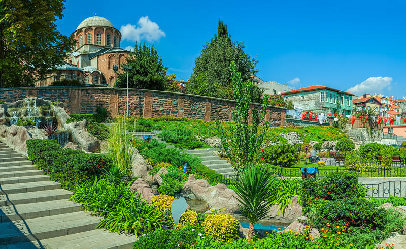 Église de Chora, Istanbul image stock