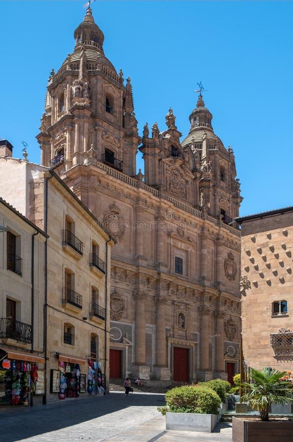 Église de Clerecia de La à Salamanque, Espagne images stock