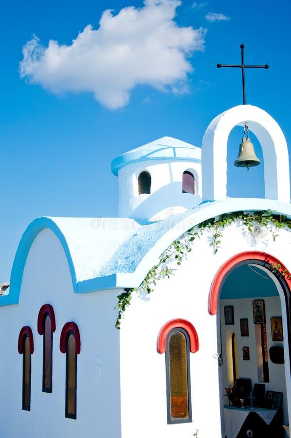 Église de Crète image stock