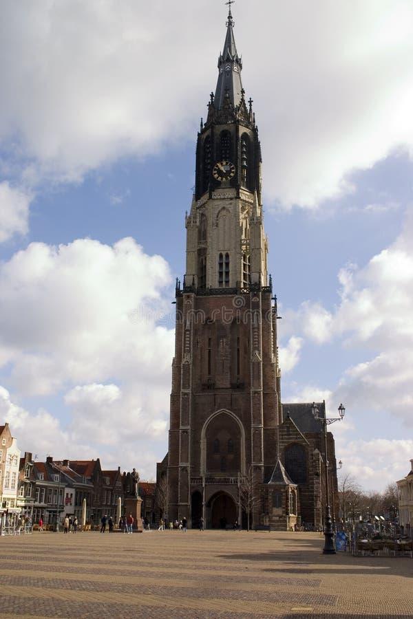 Download Église de Delft photo stock. Image du religion, cathédrale - 731774