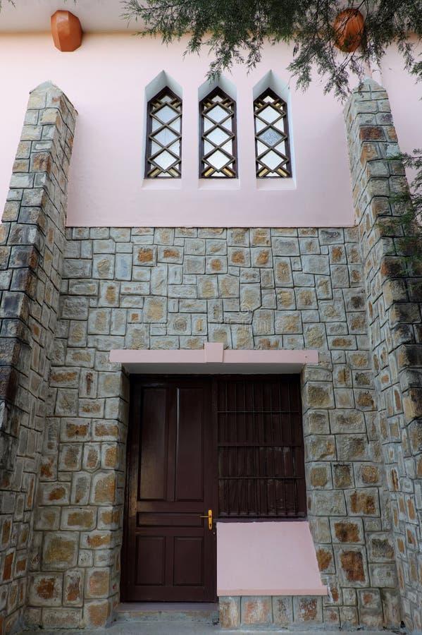 Église de Domaine de Maria, tourisme de Lat du DA photos stock