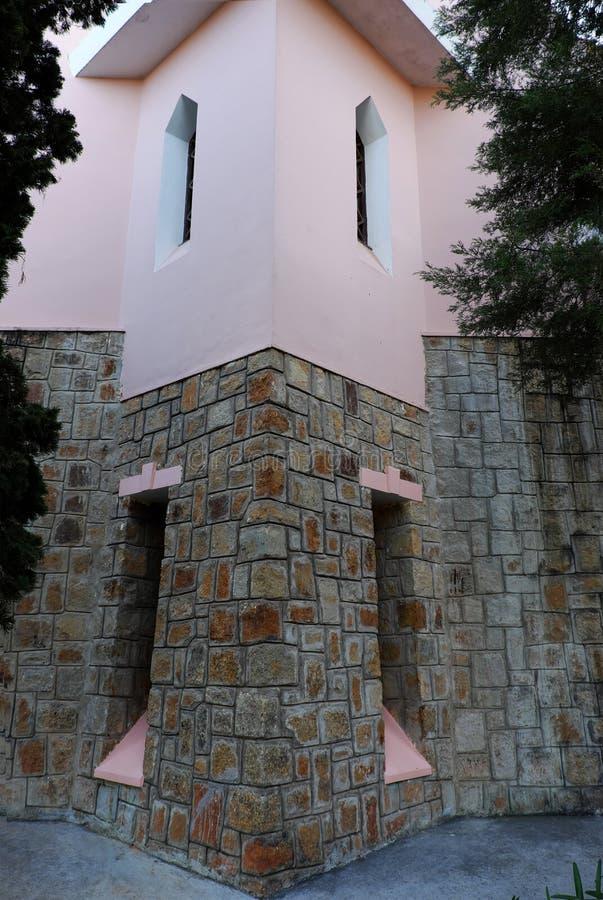 Église de Domaine de Maria, tourisme de Lat du DA images libres de droits