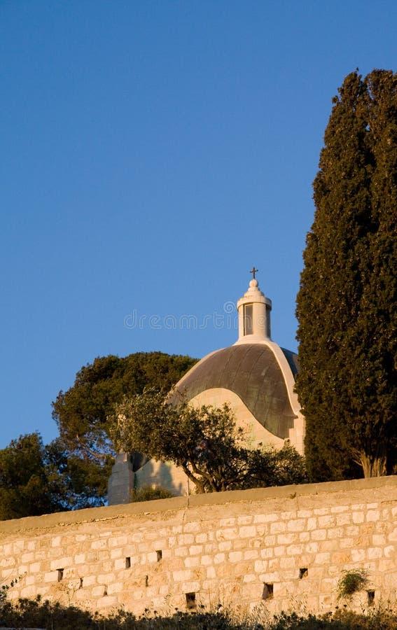 Église de Dominus Flevit photos libres de droits