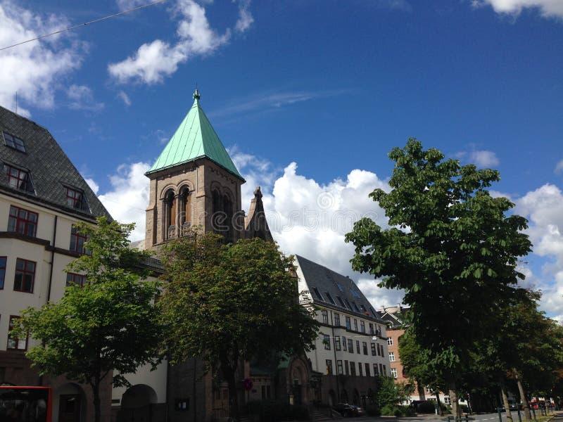 Église de Frogner photos stock