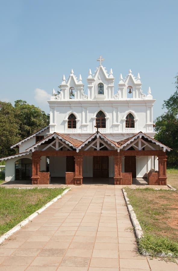 Église de Goa photographie stock