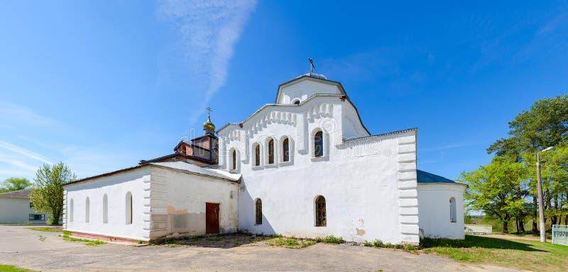 Église de grands martyre et guérisseur saints Panteleimon, région de Vitebsk, Belarus photos libres de droits