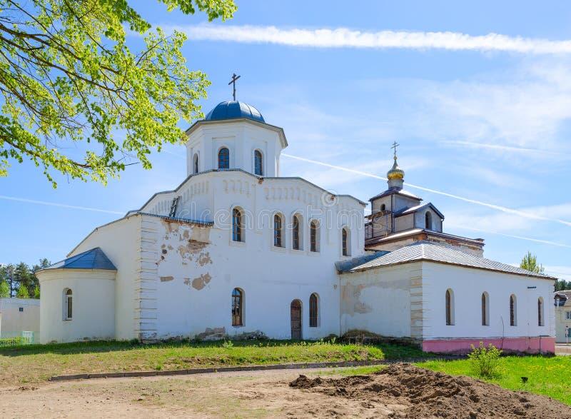 Église de grands martyre et guérisseur saints Panteleimon, Ruba, Vitebsk, Belarus images stock