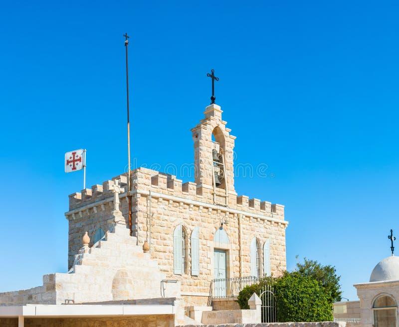 Église de grotte de lait dans Betlehem, Palestine images stock