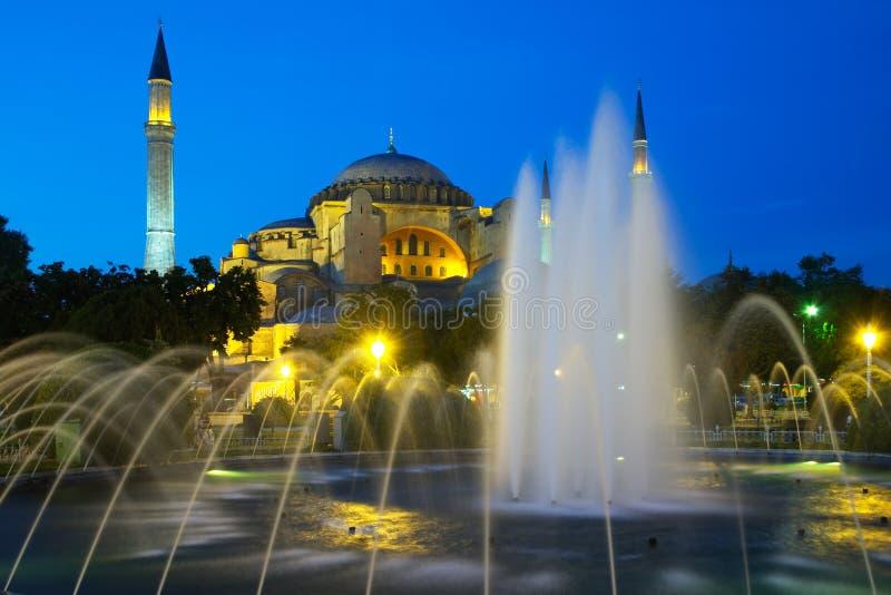 Église de Hagia Sophia image libre de droits