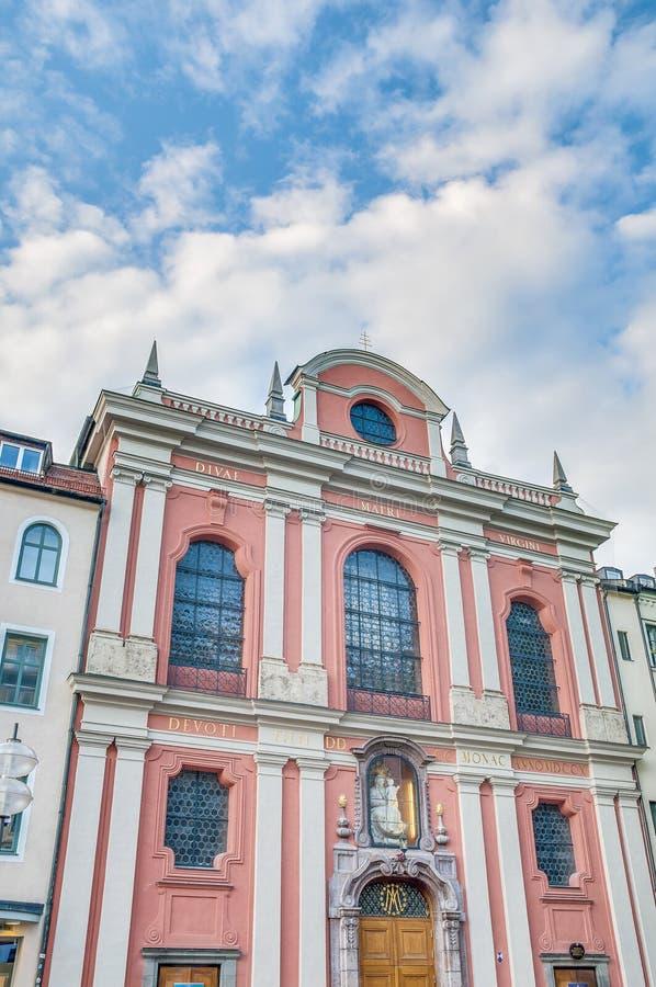 Église de Hall du citoyen à Munich, Allemagne photos libres de droits