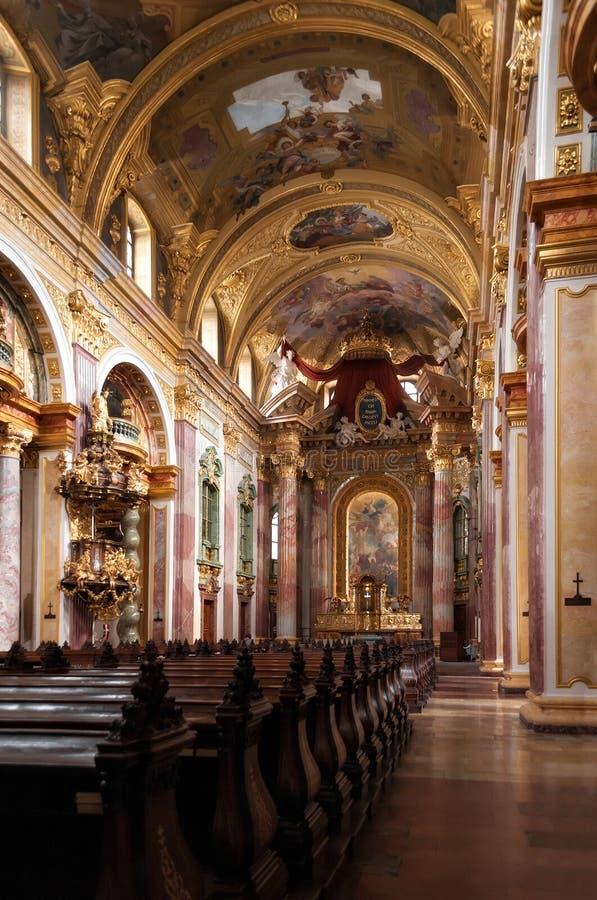Église de jésuites photo libre de droits