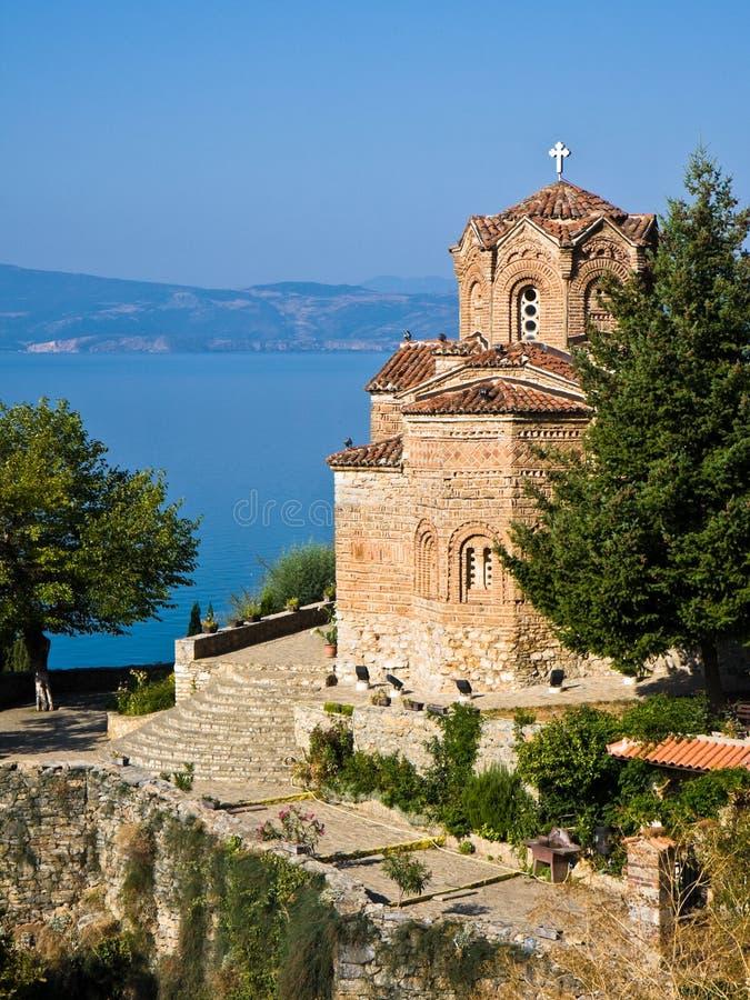 Église de Jovan Kaneo photos stock