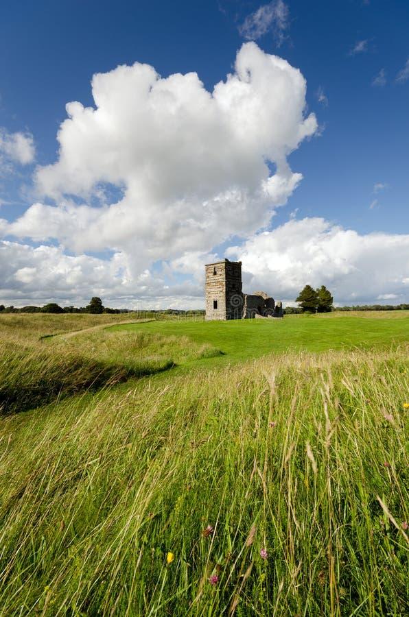 Église de Knowlton photographie stock libre de droits