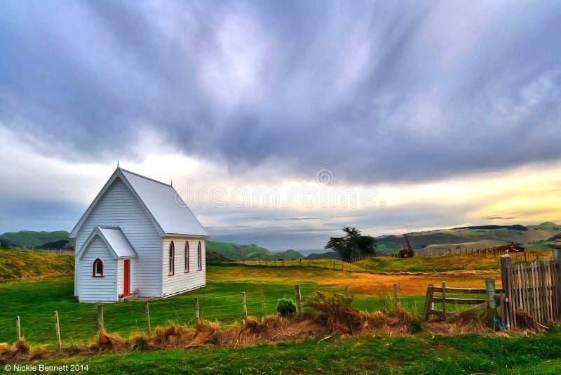 Église de Kohekohe images stock