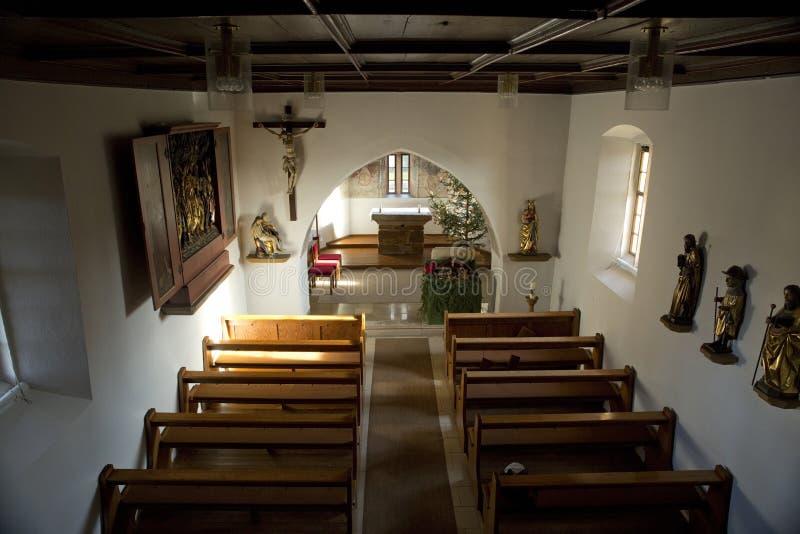 Église de Krummwalden, Krummwalden, Baden Wurttenberg, Allemagne - 1er janvier 2014 images libres de droits