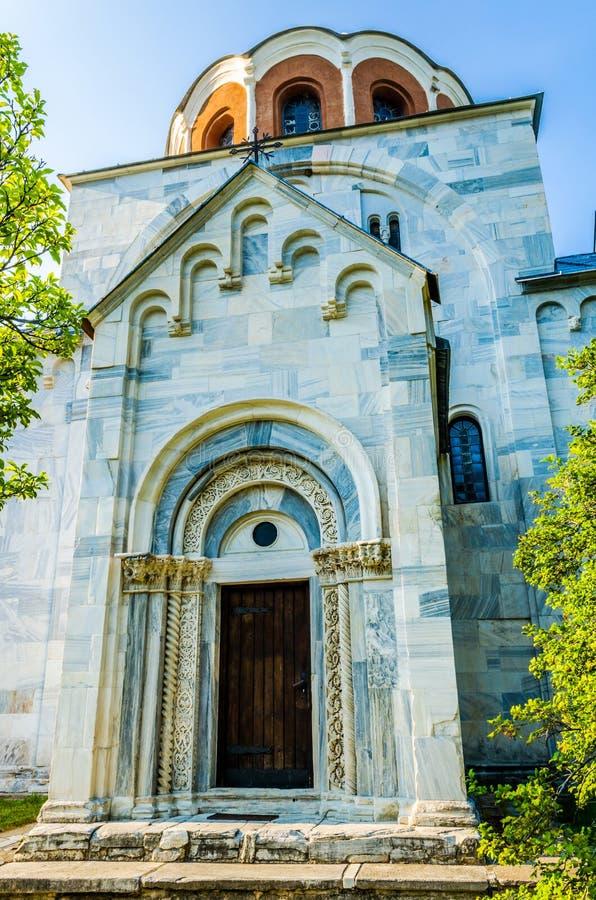 Église de l'acceptation de la Vierge dans le monastère Studenic photo libre de droits
