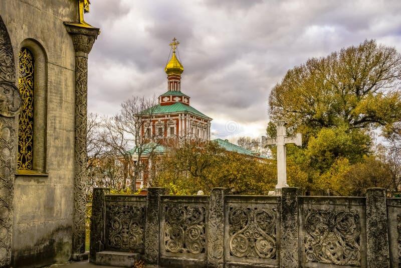 Église de l'ensemble du couvent de Novodevichy - monde de l'UNESCO photos stock