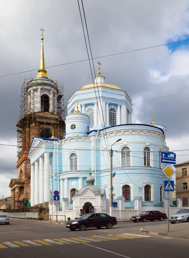 Église de l'hypothèse ( ; Uspenskaya) ; Yelets image libre de droits