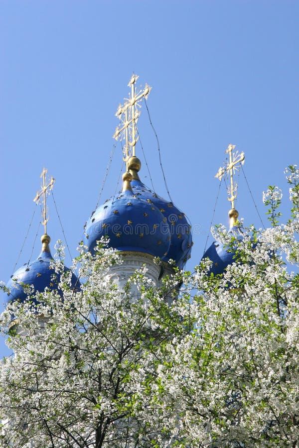 Église de l'icône de Kazan de la mère de Dieu dans Kolomenskoye photo libre de droits