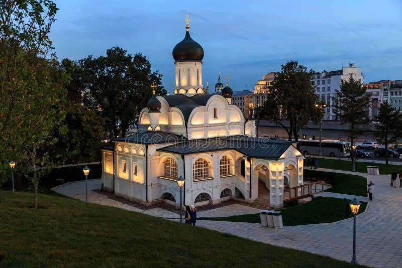 Église de la conception de St Anna images stock