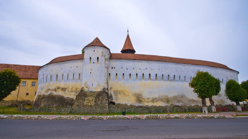 Église de la défense dans Prejmer, Roumanie photos libres de droits