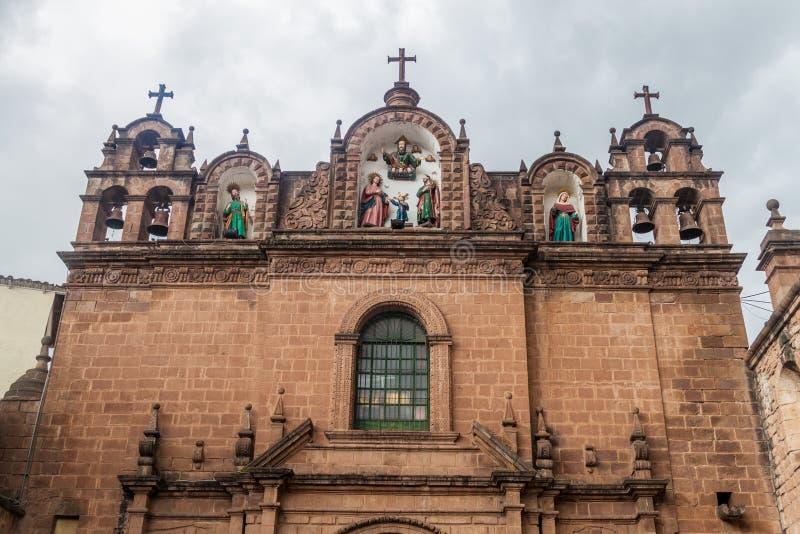 Église de la famille sainte dans Cuzco, pe photographie stock