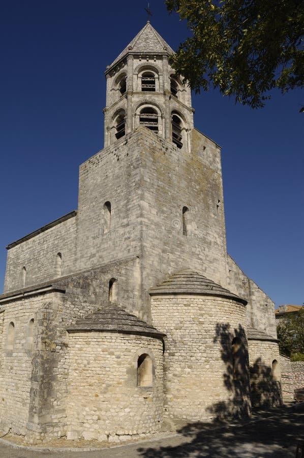 Église de La Garde-Adhemar, le Rhône-Alpes, photos stock