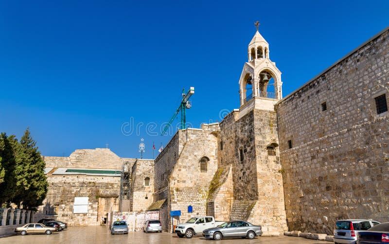 Église de la nativité à Bethlehem, Palestine image libre de droits