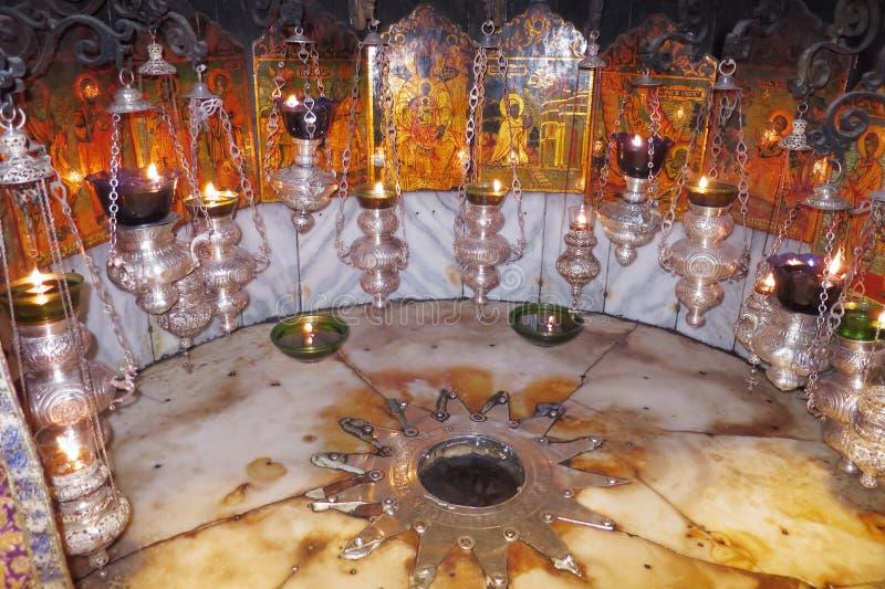 Église de la nativité - Bethlehem - Israël photos libres de droits
