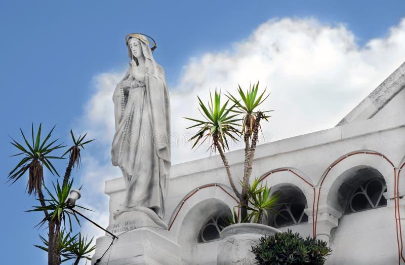 Église de la nativité rue d'église de Catherine Bethlehem, Palestine image stock