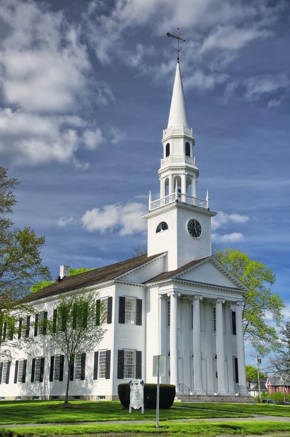 Église de la Nouvelle Angleterre images libres de droits