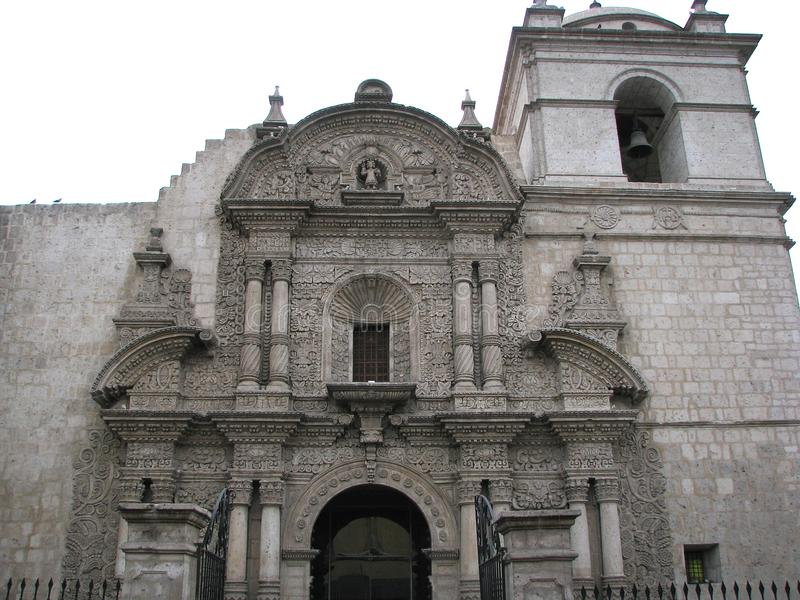 Église de la société à Arequipa, Pérou photo stock