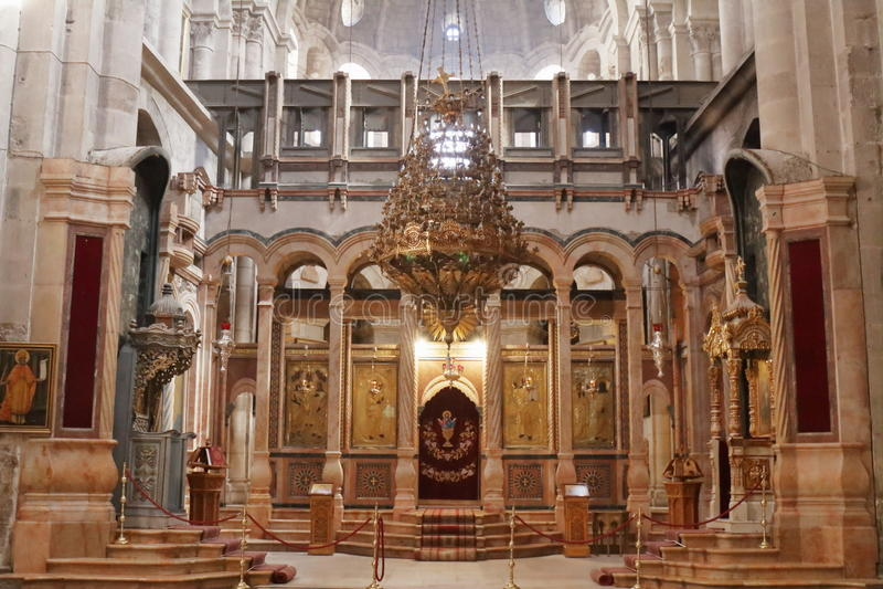 Église de la tombe sainte - Jérusalem - Israël photographie stock