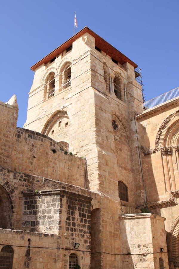 Église de la tombe sainte - Jérusalem - Israël image libre de droits