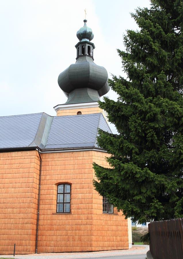 Église de la trinité la plus sainte photo stock
