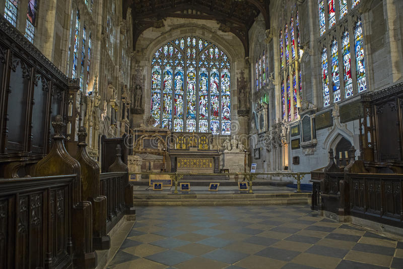Église de la trinité sainte à Stratford-Sur-Avon photo libre de droits
