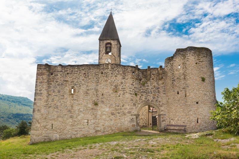 Église de la trinité sainte, Hrastovlje, Slovénie photos stock